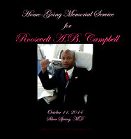ROOSEVELT CAMPBELL MEMORIAL SVC